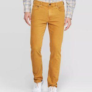 Goodfellow & Co Men's Slim Fit Jeans 29 x 30 Gold